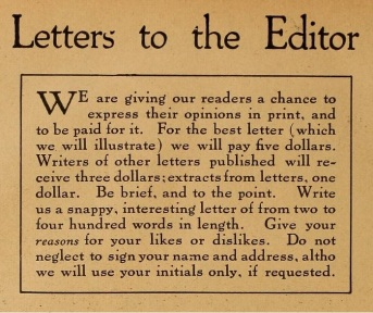 Letters to the Editor title