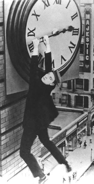 Buster is Harold Lloyd