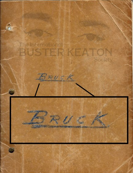 Buster the general original script wow