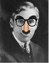 Sennett groucho glasses