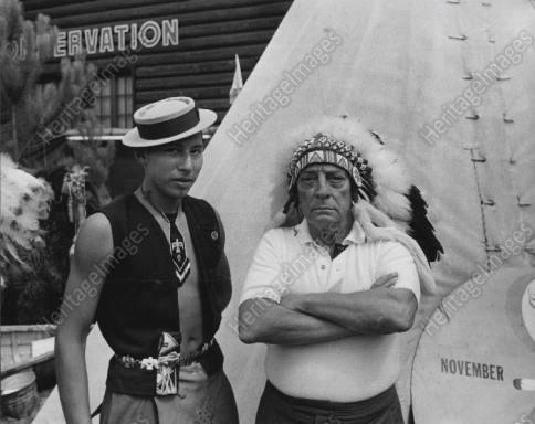 Buster indian original press photo ebay