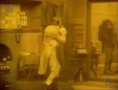 Frankenstein 1910 monster mirror and man