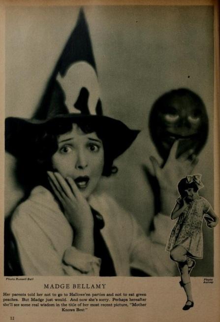 Madge Bellamy halloween mot pic classic '28