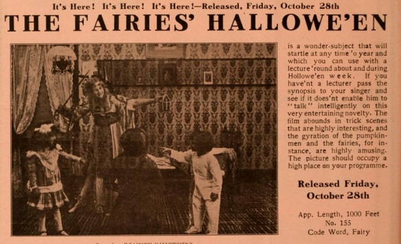 The Fairie's Halloween mov pic world 1910