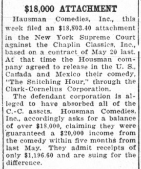 Arthur Housman legal difficulties variety Jan '23