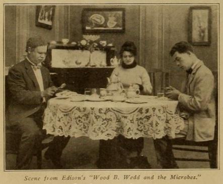 Arthur Housman scene from wood b. wedd Motography '14