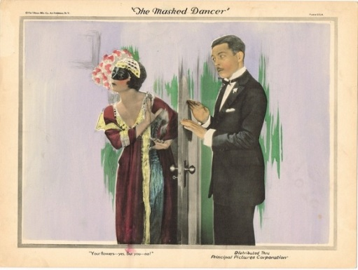 Arthur Housman the masked dancer 1924