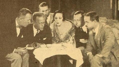 Virginia Vallee birthday cake mot pic mag '27