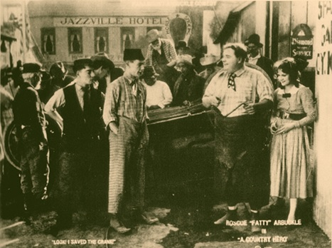 A Country Hero lobby card