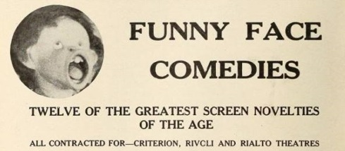 Funny Face comedies ad 1