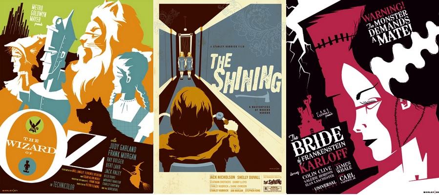Modern Vintage Film Posters