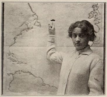 Dorothy Gibson titanic map the mov pic news '12