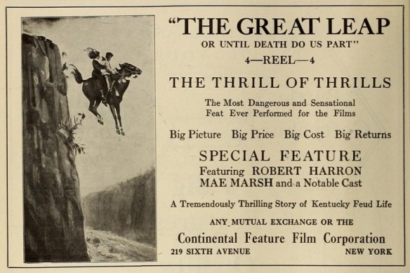 The Great Leap ad reel life 1914