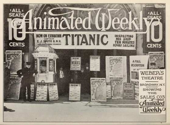 Titanic theater display the mov pic news may 4 '12