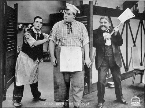 Arbuckle the cook lobby card