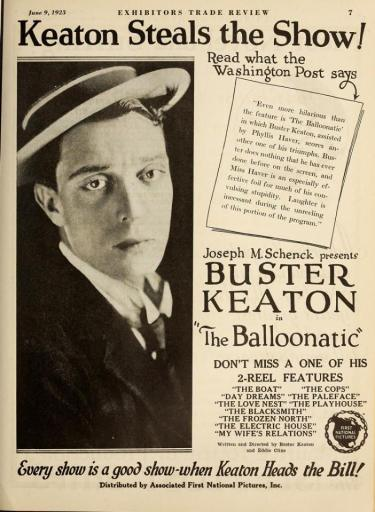 Buster balloonatic ad