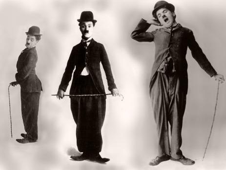 Chaplin standing costume angles