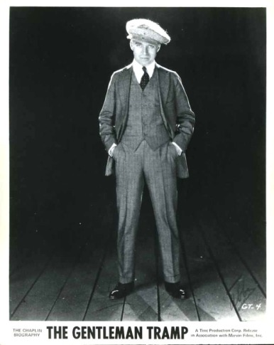 Chaplin standing james abbe photo