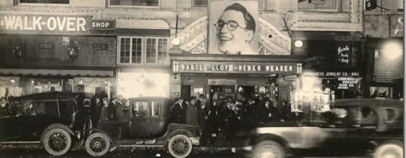 Harold lloyd marquee