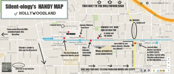 Handy Map of Hollywoodland