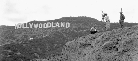 Hollywoodland and cameramen
