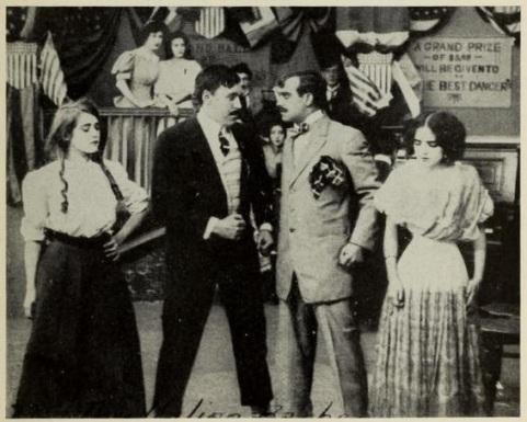 Mack Sennett the italian barber 1908 film
