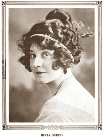 Minta Durfee portrait