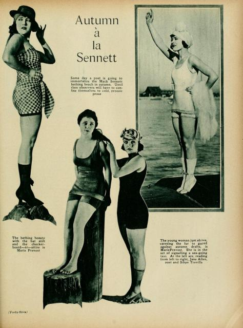 Sybil bathing beauty page