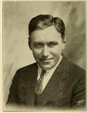 Mack Sennett portrait grin