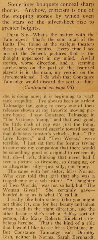 Jules D. White hates talmadges mot pic mag jan. '21