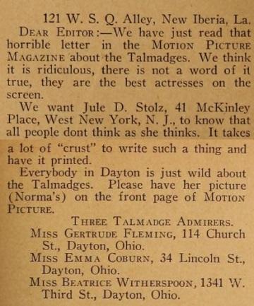 Jules D. White response 2 mot pic mag May '21