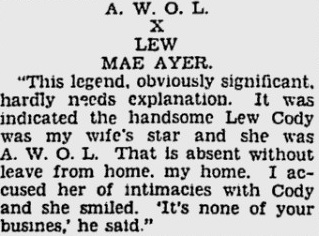 Lew Cody article 2 1930