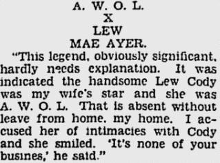 Lew Cody article 2 1930