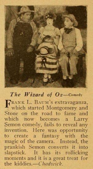 The Wizard of Oz review mot pic mag '25