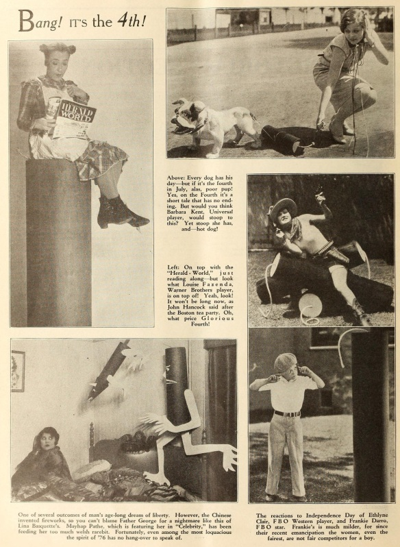 Bang Its The 4th exh herald and mov pic world June 30 '28