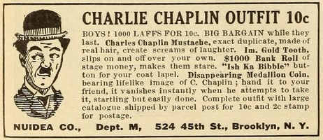 Charlie Chaplin Outfit