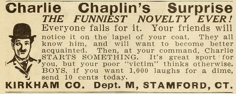 Charlie Chaplin's Surprise mot pic mag '16