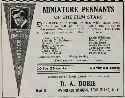 Pennants film stars mot pic mag '16