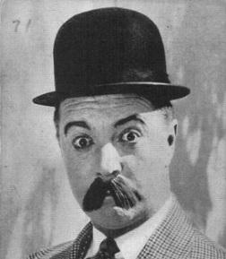 Billy Bevan mustache