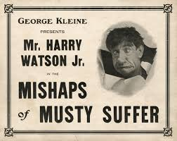 Mishaps Musty Suffer ad 1910s