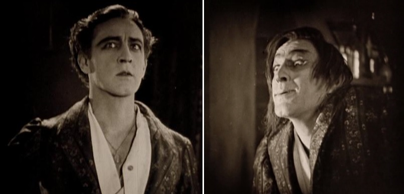 John Barrymore as Dr. Jekyll and Mr. Hyde