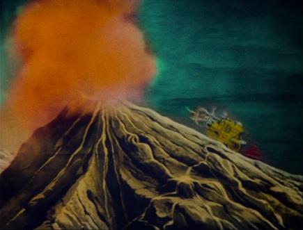 Merry Frolics volcano