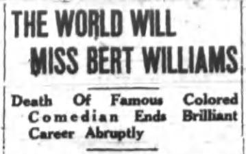World will miss Williams headline '22
