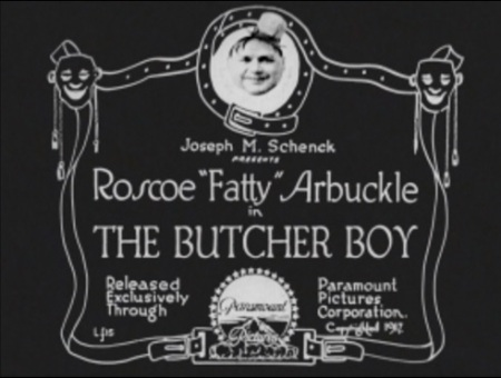 Title card butcher boy