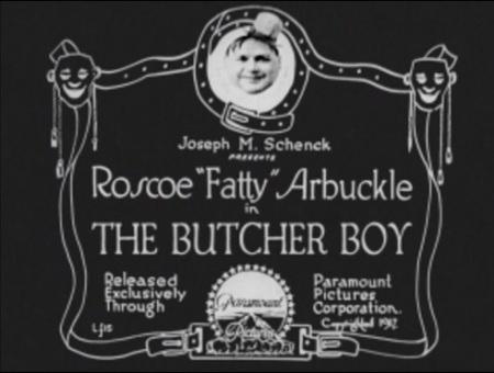 Title card butcher boy
