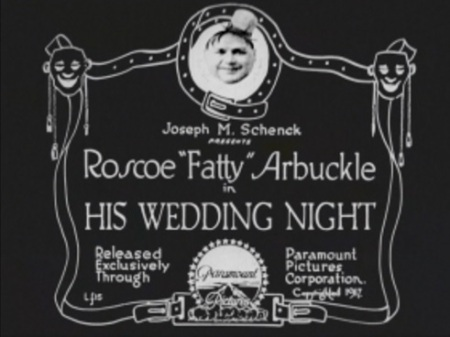 Title card his wedding night