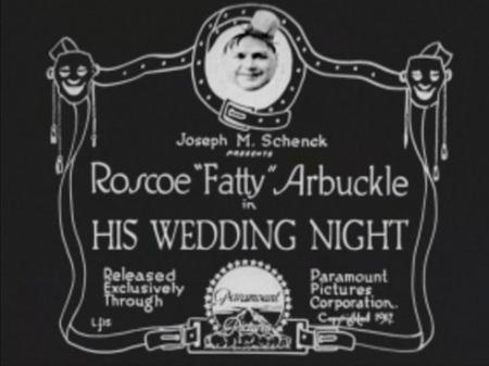 Title card his wedding night