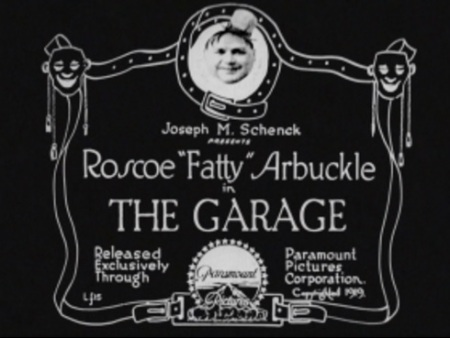 Title card the garage