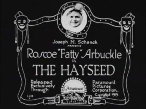 Title card the hayseed