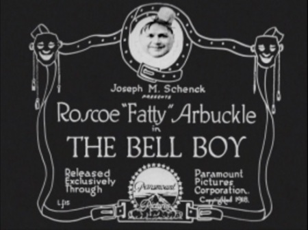 Title cards the bell boy